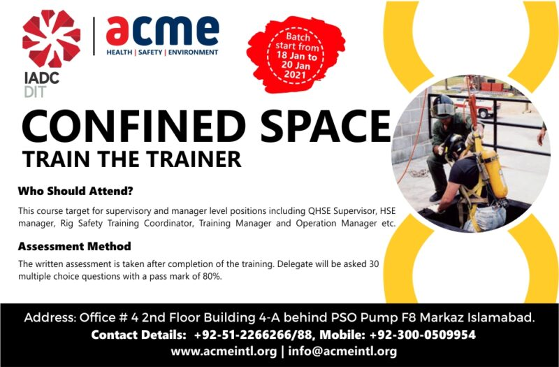 IADC Confined Space